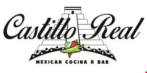 Product image for Castillo Real Mexican Cocina & Bar $10 OFF any purchase of $60 or more.