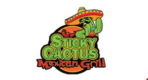 Sticky Cactus Mexican Grill logo