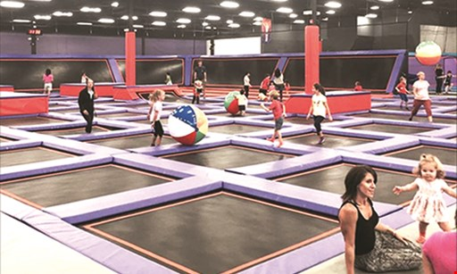 Product image for Altitude Trampoline Park Free 30-Minute Jump Pass