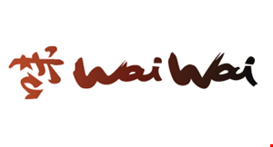 Product image for Wai Wai Chinese Cuisine $3 off total purchase of $20 or more.
