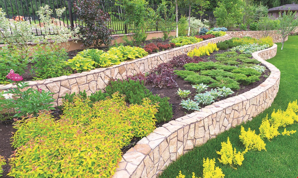Product image for MOUNTAIN ROAD LANDSCAPING $500 Off customized landscape installation min. $2500 contract.