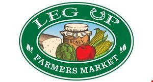 Leg Up Farmers Market logo