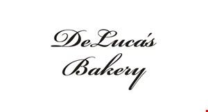 DeLuca's Bakery logo