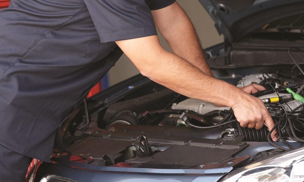 Product image for David Johnson's Automotive Repair $19.95 Basic Service oil change