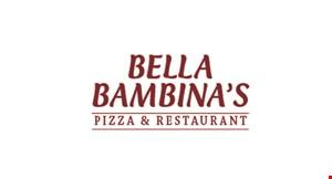 Bella Bambina's Pizzeria & Restaurant logo