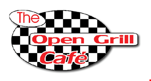 Open Grill Cafe logo