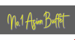 Product image for NO.1 ASIA BUFFET $10.99 for up to 3 dinners mon-fri after 4pm