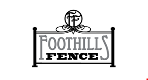 Foothills Fence logo