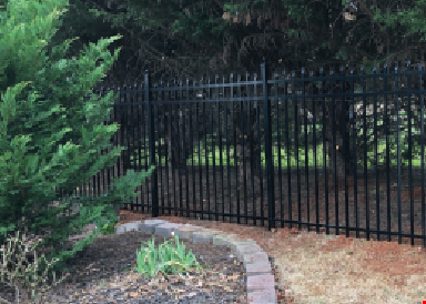 Product image for Foothills Fence up to $300 OFF Ornamental Aluminum Fencing with the purchase of 200 lin. ft. or more.