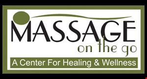 Massage On The Go logo