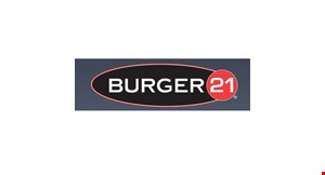 Product image for BURGER 21 $39 family meal deal