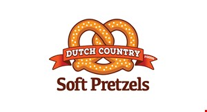 Product image for Dutch Country Soft Pretzels $5 off carryout order