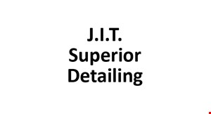 Product image for J.I.T. Superior Detailing $49.95 + tax complete exterior detail (extra charge for large trucks, vans, and SUVs)