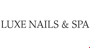 Luxe Nails & Spa logo