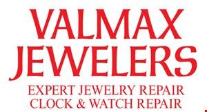 Valmax Jewelers logo
