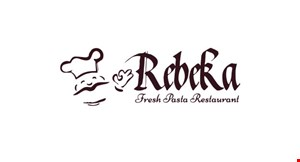Product image for Rebeka Fresh Pasta Restaurant $10 For $20 Worth Of Italian Dining