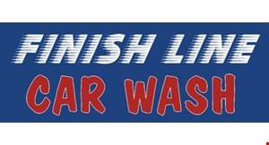 Finish Line Car Wash logo