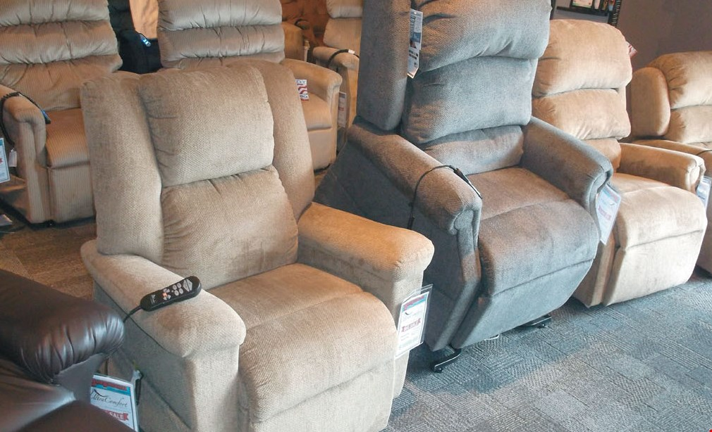 Product image for Bergmann For Your Home Save $50 on any power recliner of $999 or less.
