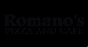 Romano's Pizza & Cafe logo