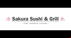 Sakura Sushi and Grill logo