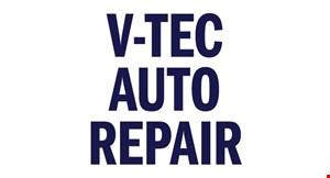 V-Tec Auto Repair logo
