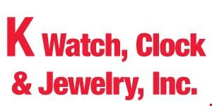K Watch, Clock & Jewelry, Inc. logo