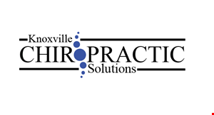 Product image for Knoxville Chiropractic Solutions a $159 value!!Includes a personal consultation and all necessary x-rays $49 New Patient Special