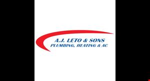 A.J. Leto & Sons Plumbing, Heating & AC logo
