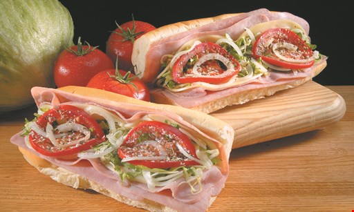 Product image for JRECK SUBS $1.00 off Whole Sub OR 50¢ off Half Sub