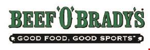 Beef 'O' Brady's logo