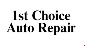 1st Choice Auto Repair logo