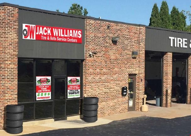 Product image for Jack Williams Tire & Auto Service Center $89.95 Stanard Brake Service.