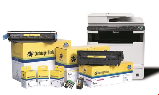 Product image for Cartridge World 15% OFF Your purchase of $100 or more OR 10% off on purchases of $99 or less.