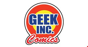 Geek Inc. Comics logo