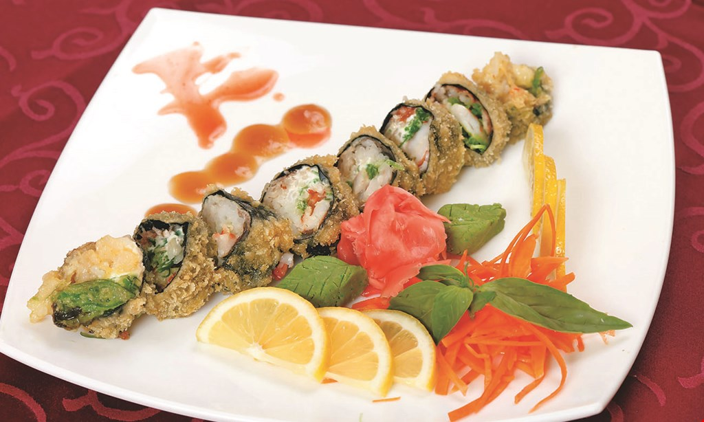 Product image for SUSHI KING 15% Off dine in or carryout.