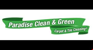 Paradise Clean & Green Carpet & Tile Cleaning logo