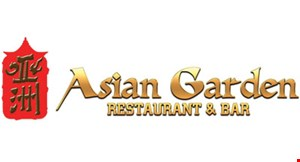 Product image for Asian Garden Restaurant & Bar 10% OFF total bill takeout only