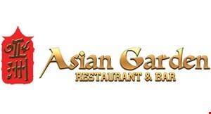 Asian Garden Restaurant & Bar logo