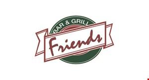 Friends Bar & Grill logo