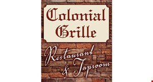 Colonial Grille Restaurant & Taproom logo