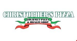 CHRISTOPHER'S PIZZA logo