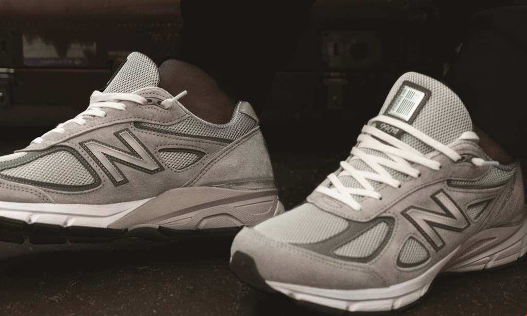 Product image for NEW BALANCE 25% OFF any in-stock clothing