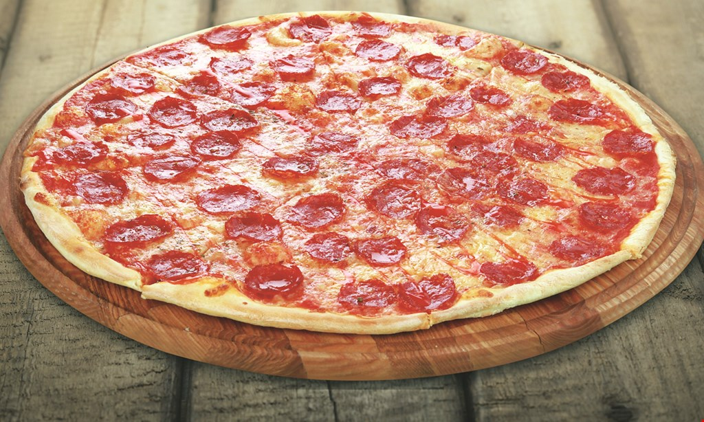 Product image for Giovanni's Pizza and Pasta Double Deal: $21.99 - 2 Large Cheese Pizzas