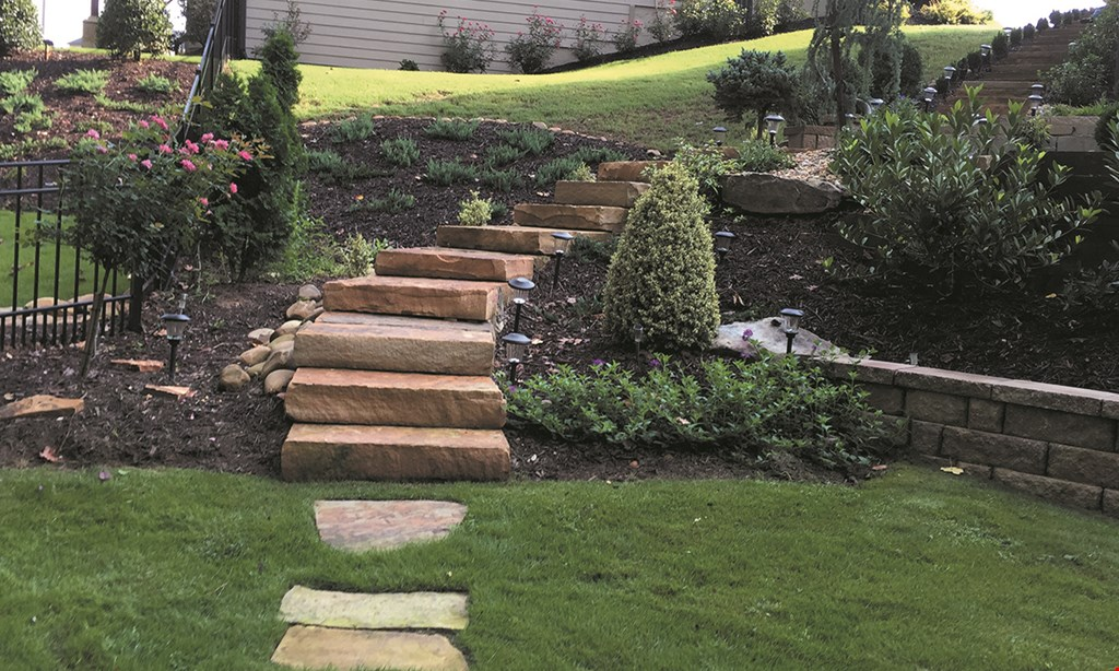 Product image for JRJ Landscaping $150 off irrigation installation & repairs.