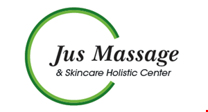 Jus Massage & Skincare Holistic Center logo