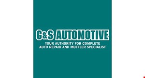 Product image for G & S AUTOMOTIVE $30 Off any repair of $250 or more. $50 Off any repair of $450 or more. .