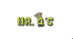 Mr. Q's Family Skate Center logo
