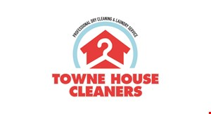 Towne House Cleaners logo