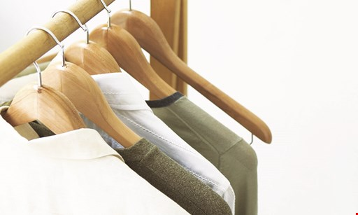 Product image for Towne House Cleaners $1.95 each men's plain shirts laundered