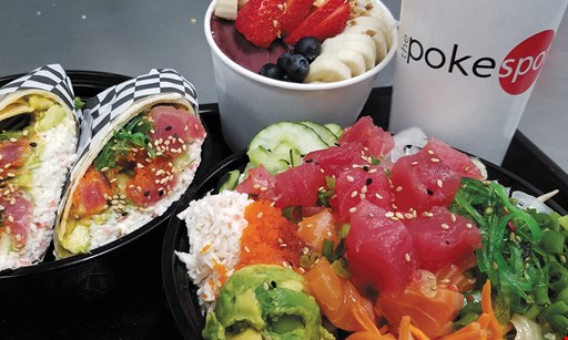 Product image for Off The Hook Poke & Grill 50% OFF entree
